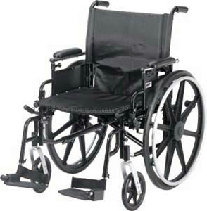 Folding Steel Manual Wheelchair (1215)