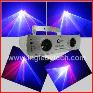 Red and Blue Two Lens White Laser Light