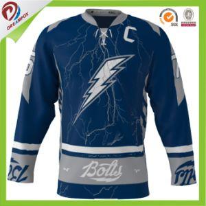 Dreamfox Sportswear Custom Sublimation Professional Ice Hockey Jersey Wholesales pictures & photos