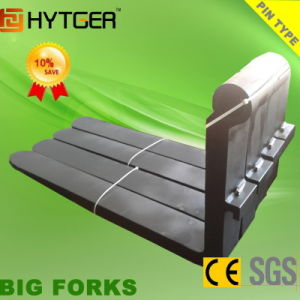 High Quality Good Tensile Strength 20ton Pin Type Forklift Forks pictures & photos