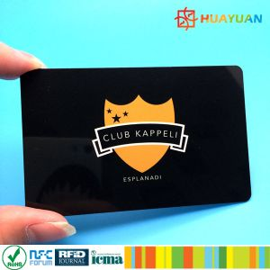 PVC 125kHz LF TK4100 Security ID RFID hotel key Card pictures & photos