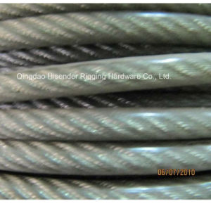 E. Gal Wire Rop PVC Coated, Self Colour pictures & photos