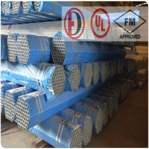 Sprinkler Galvanized Grooved Welded Steel Pipe with Valves and Fittings pictures & photos