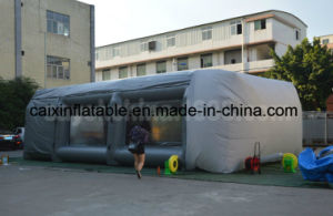 Open Face Inflatable Dry Paint Spray Booth with Filter pictures & photos