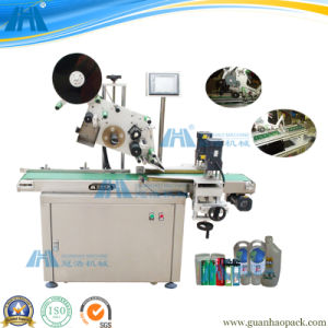 Intelligent Flat Bottle Top Labeling Machine (GH-TB-150SR) pictures & photos