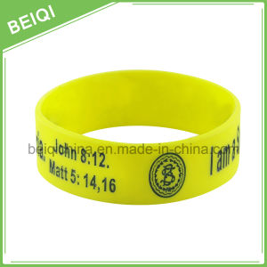 Cheap Promotional Custom Silicone Wristbands pictures & photos