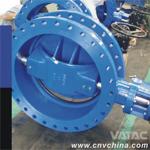 Gear Operated U Type Flanged Butterfly Valve pictures & photos