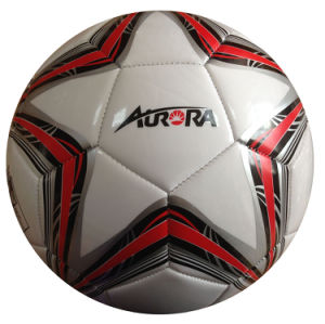 Machine Stitched Size 5 PVC Football