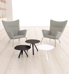 Uispair 100% Steel Modern Office Living Room Bedroom Dining Room Coffee Desk