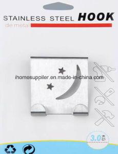 H1002 Stainless Steel Over Door Hook Hanging Hook Load 3.0kgs