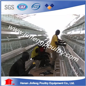 Hot DIP Galvanzized Full Automatic Chicken Cage for Layer pictures & photos