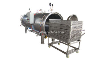 Shanghai Uwants Energy Saving Water Spray Type Autoclave Machine pictures & photos