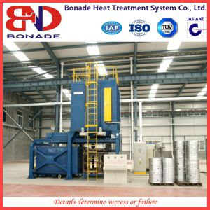Aluminum Alloy Quick Quenching Furnace with Vertical Heat Treatment Furnace pictures & photos