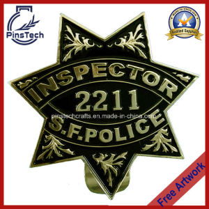 2211 S. F Police Inspector Badge, Police Badge pictures & photos