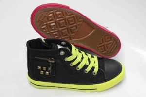 Good Quality for Rubber Outsole Canvas Shoes (SNK-02101) pictures & photos