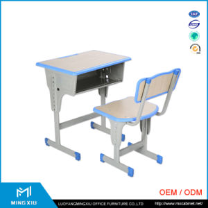 China Supplier Middle School Desk and Chair / Adjustable School Desk pictures & photos