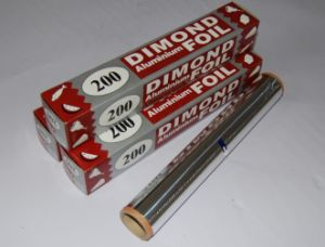 8011 Aluminum Foil Roll in Packaging and Kitchen pictures & photos