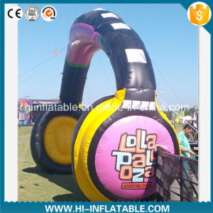 Hot-Sale Event Entrance Inflatable Headphone Arch pictures & photos