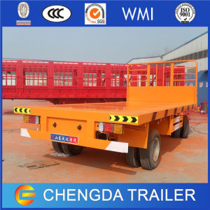 Utility Full Container Trailer, 30ton Flatbed Full Trailer pictures & photos