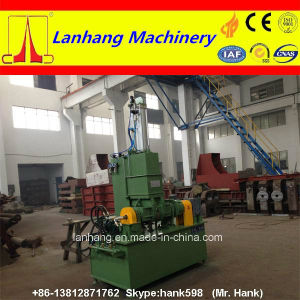 Tilting Discharge Pressed Kneader for Plastic & Rubber pictures & photos