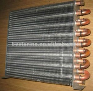 Refrigeration Copper Tube Aluminium Finned Condenser for Water Dispenser pictures & photos