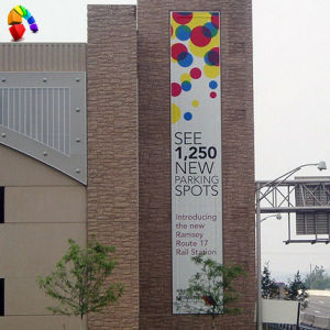 Exterior Banners - Vertical vinyl banners