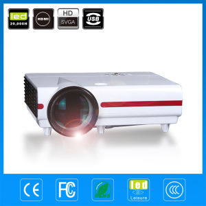 High Quality High Brightness HDMI Video Home Theater Projector pictures & photos