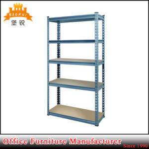 Factory Warehouse Use Durable Strong Iron Light Duty Goods Shelf pictures & photos