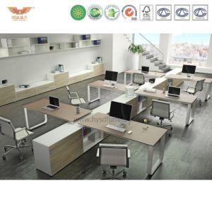 Hot Sale Melamine Office Workstation Desk Office Partition pictures & photos