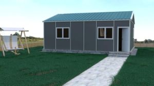 Prefabricated Detached Ready Panel House pictures & photos
