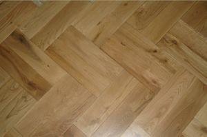Oak Chevron Wood Flooring (ASP-002)