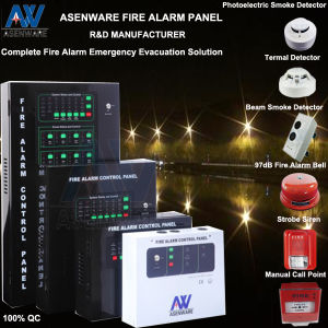 8 Zones Conventional Fire Alarm Detection Panel pictures & photos