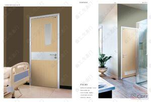 Aluminum Frame Hospital Design Swing Door pictures & photos