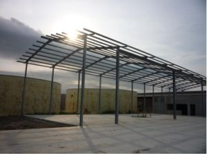 High Tensile Galvanized Steel Structure Construction pictures & photos