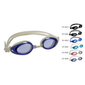 Silicone Swimming Goggle (CF-4500) pictures & photos