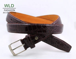 Classic and Basic Man Belt with Split Leather Linning M446 pictures & photos