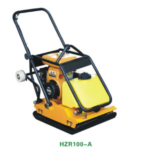Vibrating Hydraulic Concrete Road Plate Compactor with Hzr100A pictures & photos