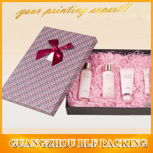 Custom Paper Cosmetic Gift Box Set Packaging pictures & photos