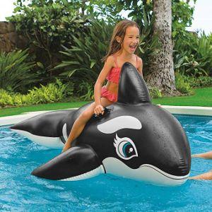 Kids Enjoy Inflatable Whale Shark Rider