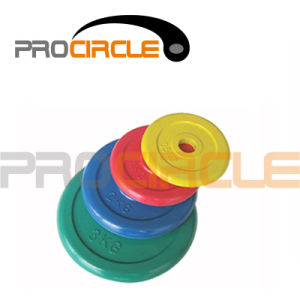 Rubber Coated Colored Weight Plates (PC-BP3001-3006) pictures & photos