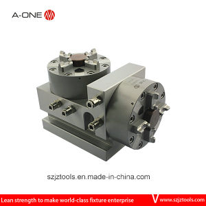 A-One CNC Pneumatic Vetical 4 Jaw Lathe Chuck pictures & photos