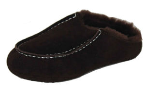 Sheepskin Slipper for Women and Girls MB69998mchocolate.