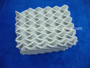Ceramic Structured Packing as Column Internals Manufacturer pictures & photos
