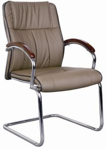 (BS-6050) Modern Ergonomic Leather Office Chair Visitor Chair pictures & photos