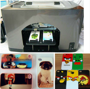 Mobile Phone Cover Printer/Cell Phone Surface Cover Color Flatbed Printer (UN-MO-MN107E) pictures & photos