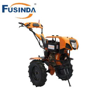 7HP Electric Start Diesel Power Tiller/ Farming Cultivator (FG1100DE) pictures & photos