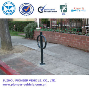 Outdoor Double-Ear Steel Bike Rack for Bike Safety Parking pictures & photos