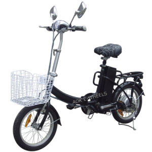 Mini Folding Electric Bicycle pictures & photos