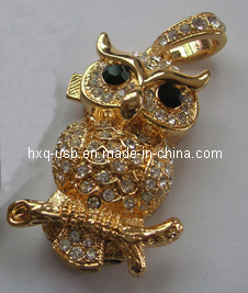 Diamond Owl USB Flash Drive