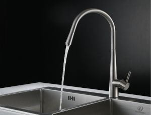 Sanitary Ware Single Lever Pull out Faucet pictures & photos